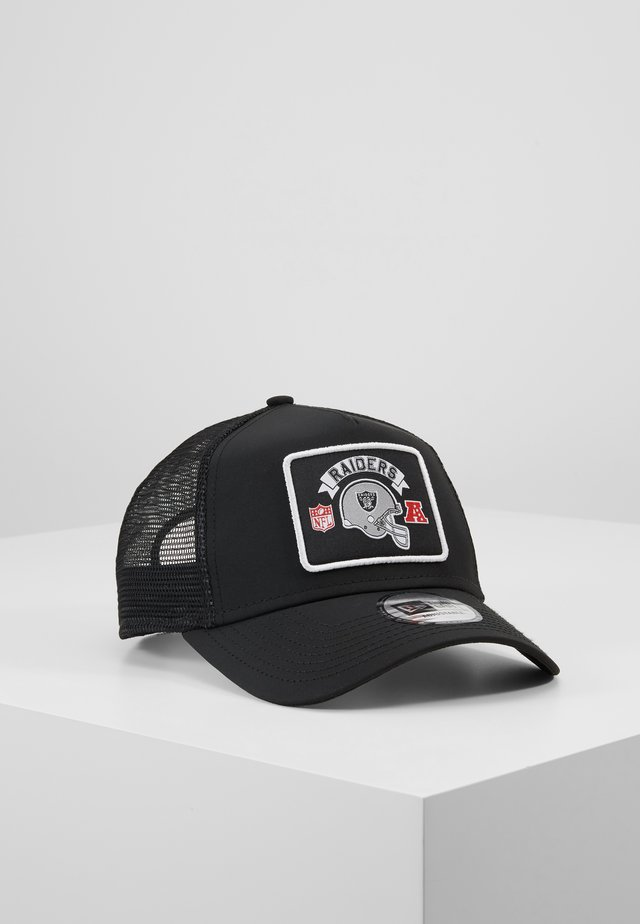 NFL WORDMARK TRUCKER - Keps - black