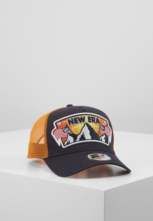 USA PATCH TRUCKER - Lippalakki - navy