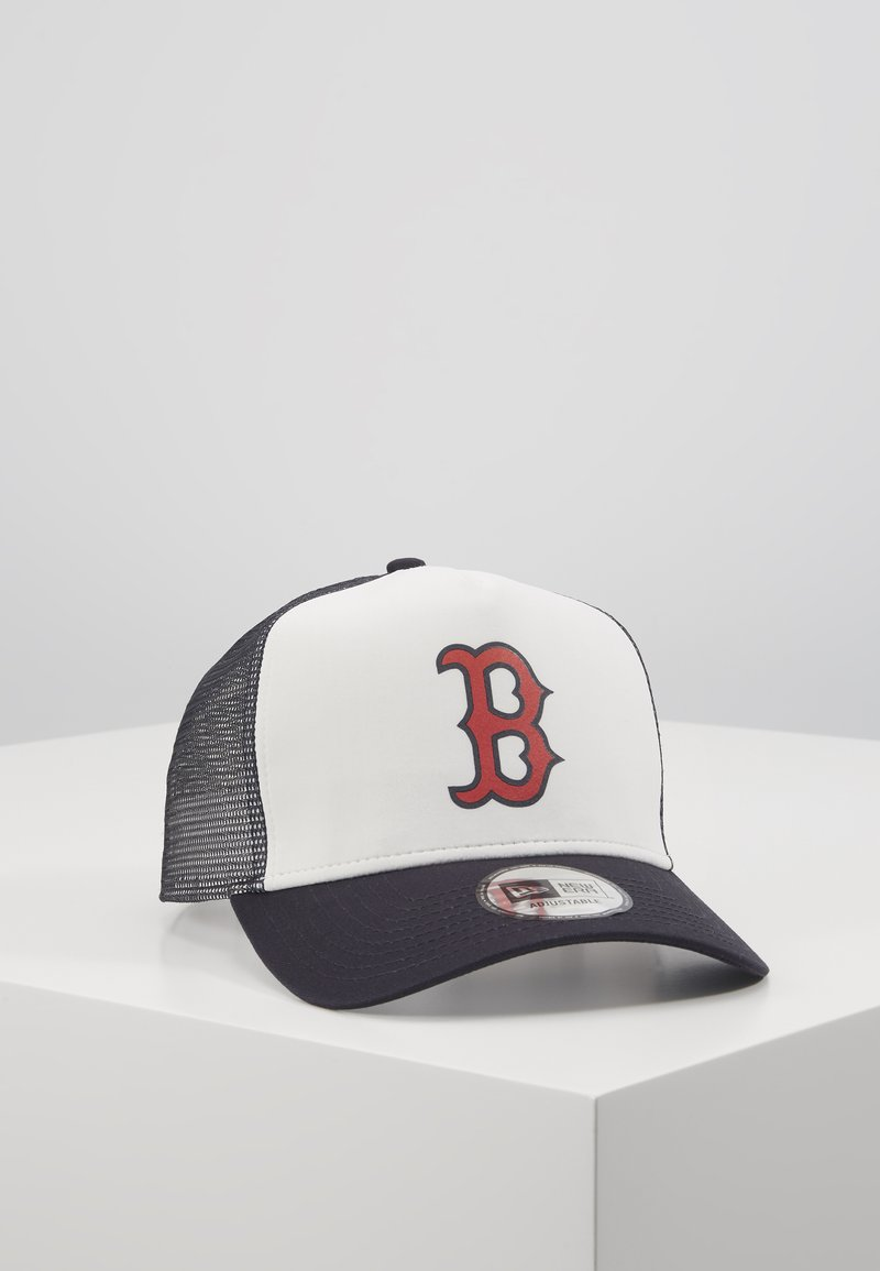 New Era - TEAM COLOUR BLOCK TRUCKER - Caps - dark blue/white/red