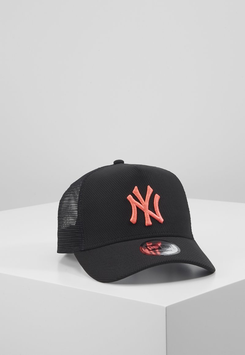New Era - DIAMOND TRUCKER - Caps - black