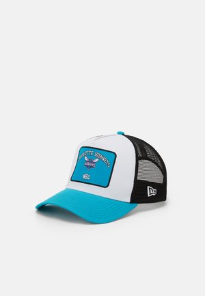 GRAPHIC PATCH TRUCKER - Caps - light blue/white