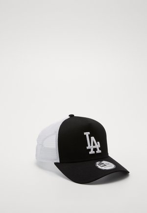 CLEAN TRUCKER  - Cap - black/ white