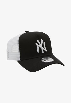 CLEAN TRUCKER NEYYAN - Cappellino - black/ white