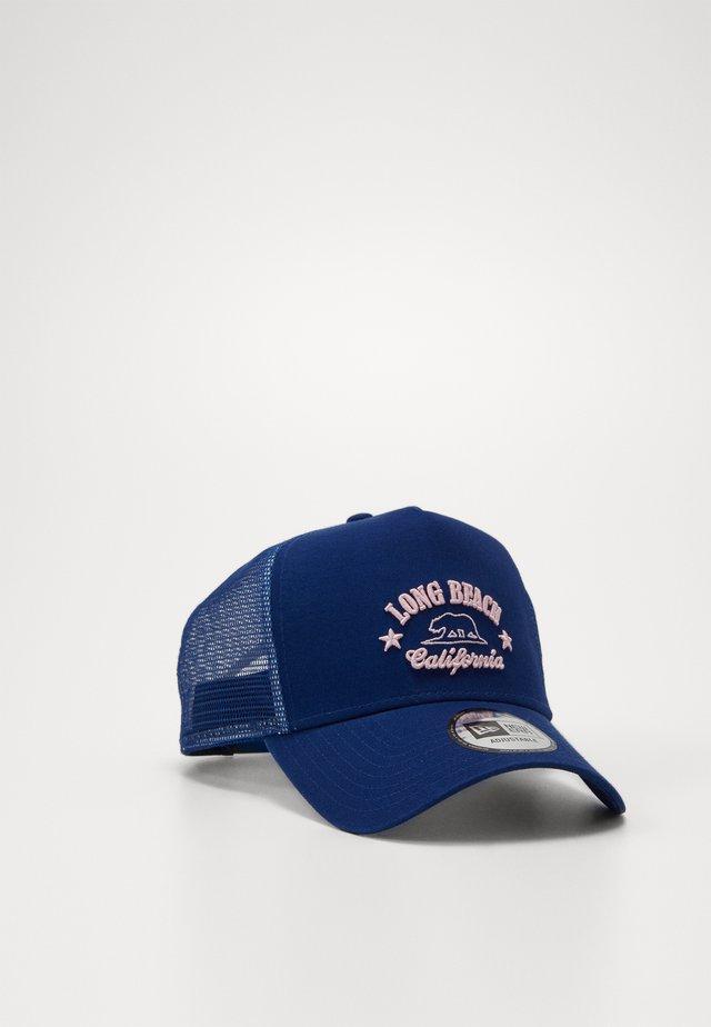 LONG BEACH TRUCKER  - Cap - indigo