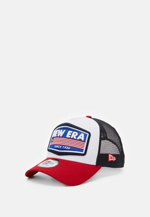 USA PATCH TRUCKER - Caps - white