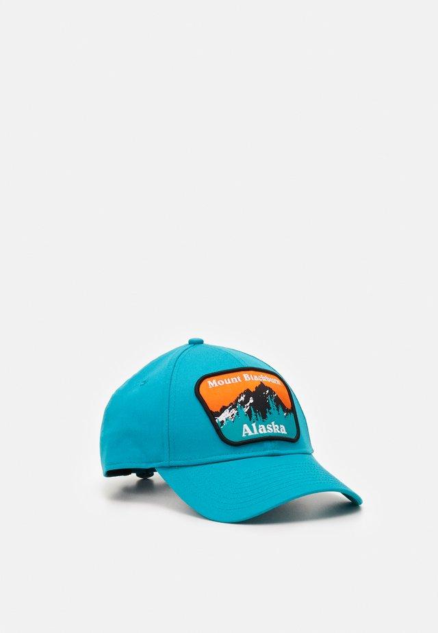 USA PATCH - Czapka z daszkiem - turquoise