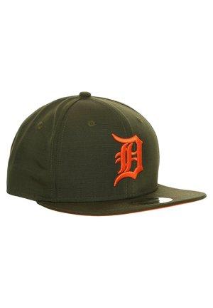9FIFTY MLB DETROIT TIGERS UTILITY SNAPBACK CAP - Pet - olive/orange