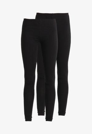 2 PACK - Leggings - Hosen - black