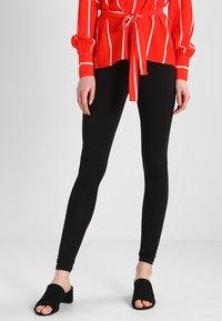 New Look Tall - 2 PACK - Leggings - Trousers - black - 0