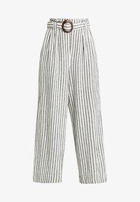 New Look Tall - MARK STRIPE CROP TROUSER  - Kalhoty - cream - 3