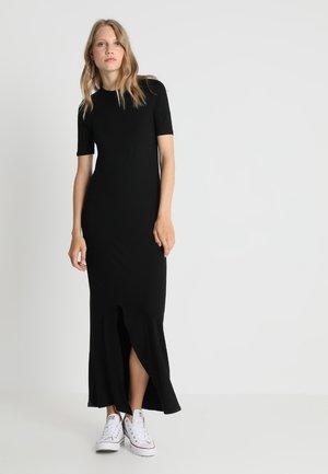 T-SHIRT DRESS  - Maxi dress - black