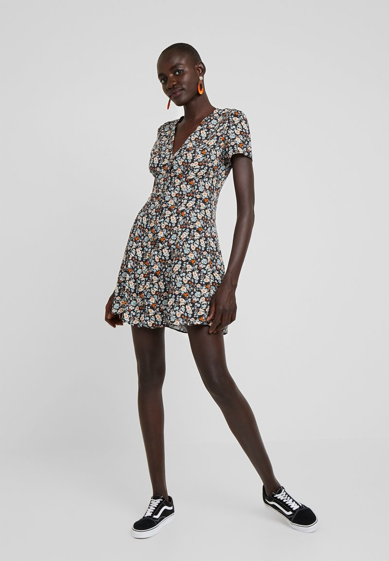 New Look Tall - FRIDAY TEA DRESS - Freizeitkleid - black