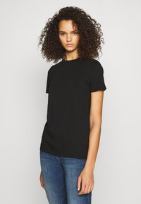 New Look Tall - ORGANIC TEE 2 PACK - Basic T-shirt - black/white - 4