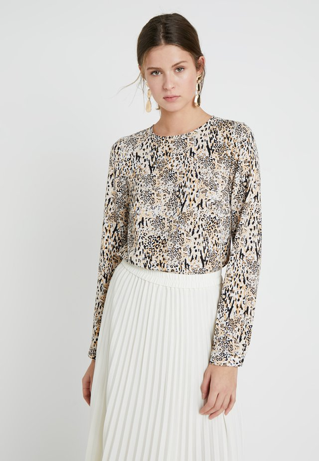 BACK SHELL  - Blouse - brown