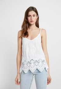 New Look Tall - LOTUS CAMI - Top - white - 0