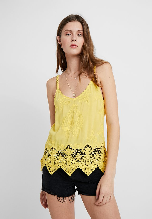 LOTUS CAMI - Top - mid yellow