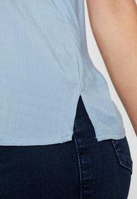 New Look Tall - JEFF PATCH SLUB - Skjortebluser - blue - 5