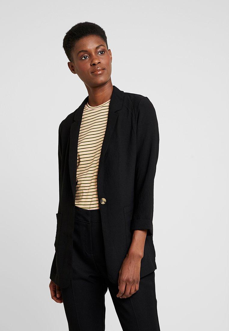 New Look Tall - TAMSIN TEXTURE - Blazer - black