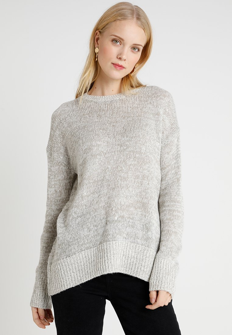 New Look Tall - LEAD IN JUMPER - Pullover - light grey