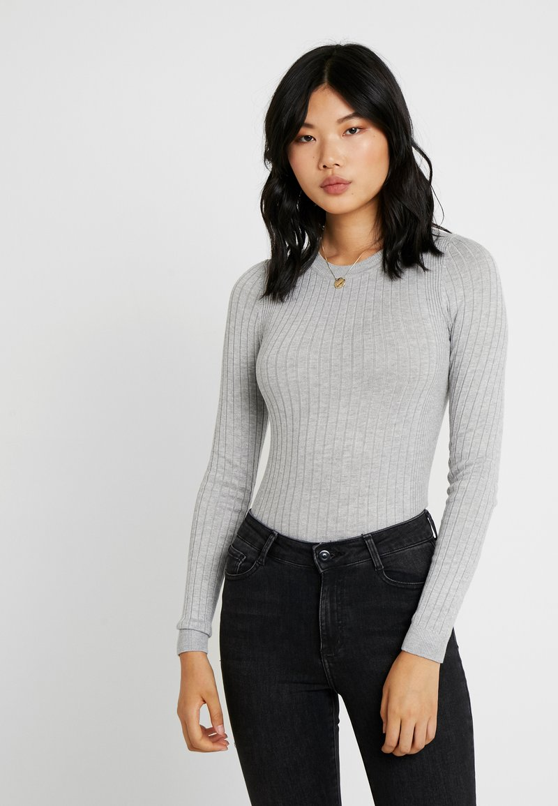 New Look Tall - CREW - Strikpullover /Striktrøjer - light grey