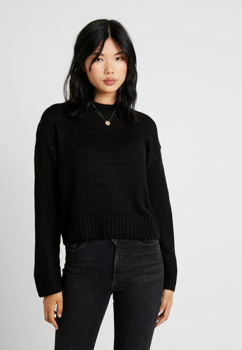 New Look Tall - LEAD IN JUMPER - Strikpullover /Striktrøjer - black
