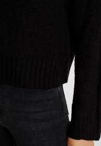 New Look Tall - LEAD IN JUMPER - Strikpullover /Striktrøjer - black - 5
