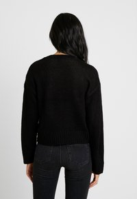 New Look Tall - LEAD IN JUMPER - Strikpullover /Striktrøjer - black - 2