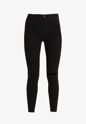 KNEE SLASH DISCO - Jeans Skinny Fit - black