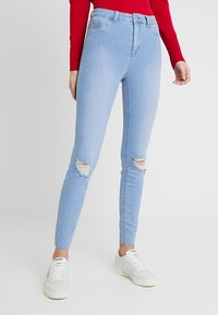 New Look Tall - BRIGHT RIP DISCO - Jeans Skinny Fit - blue - 0