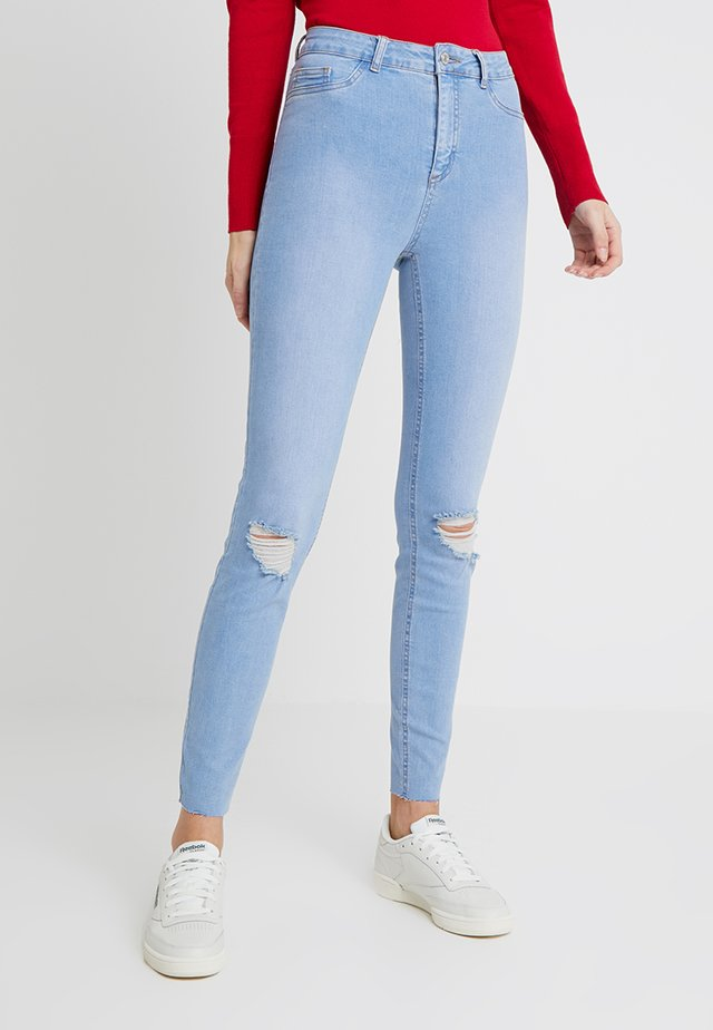BRIGHT RIP DISCO - Jeans Skinny Fit - blue