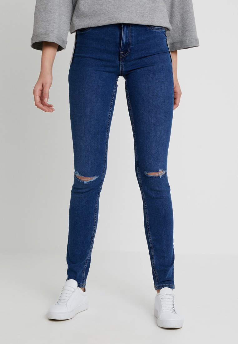 New Look Tall - WOW CLAIRE - Jeans Skinny Fit - blue denim