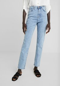 New Look Tall - TALL WAIST ENHANCE MOM - Jeans Relaxed Fit - blue - 0