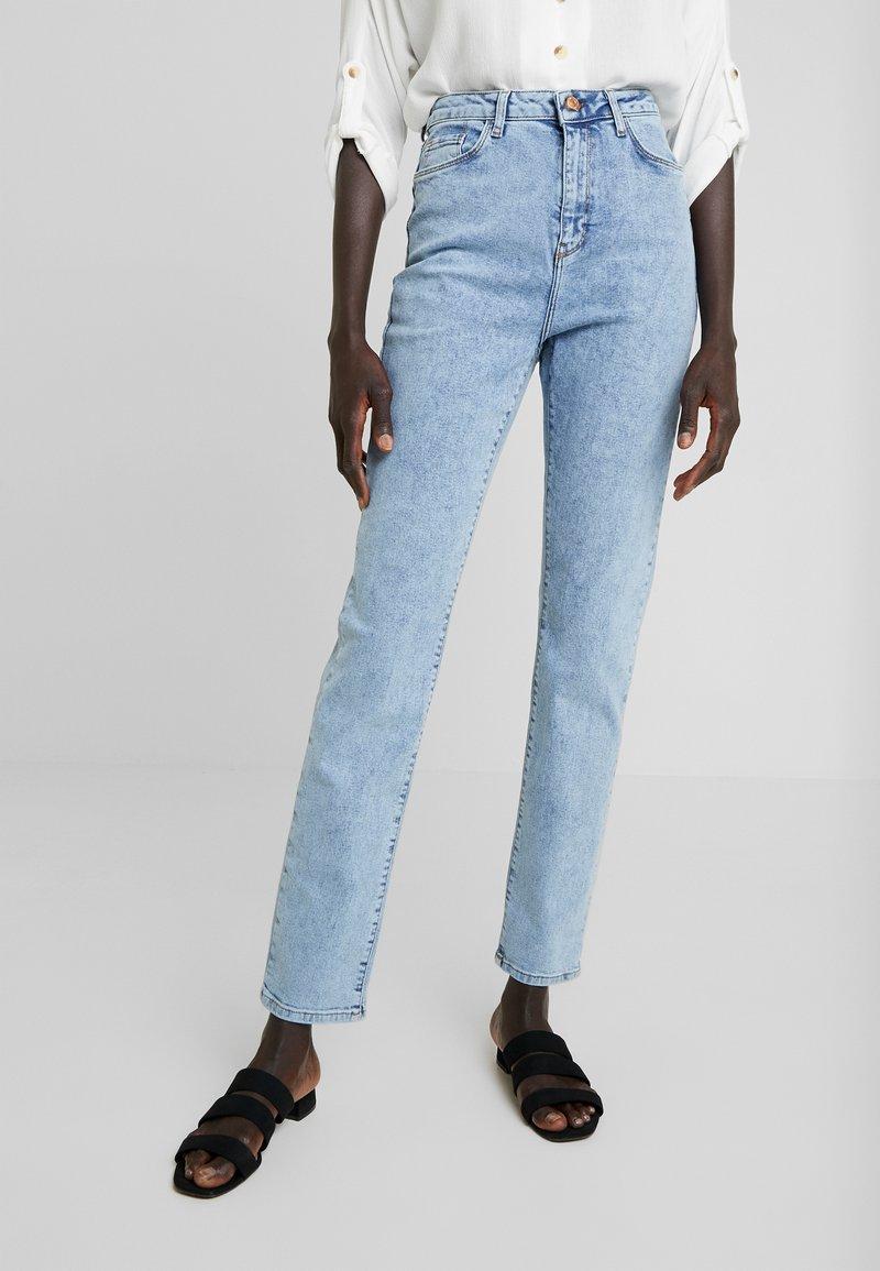 New Look Tall - TALL WAIST ENHANCE MOM - Vaqueros boyfriend - blue