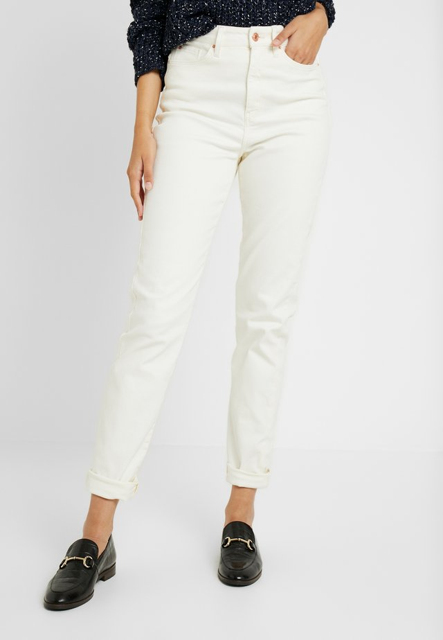 WAIST ENHANCE MOM - Jeans Skinny Fit - white