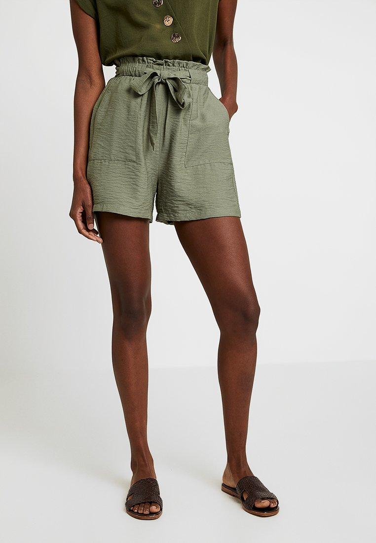 New Look Tall - JANE PAPER BAG - Shorts - khaki