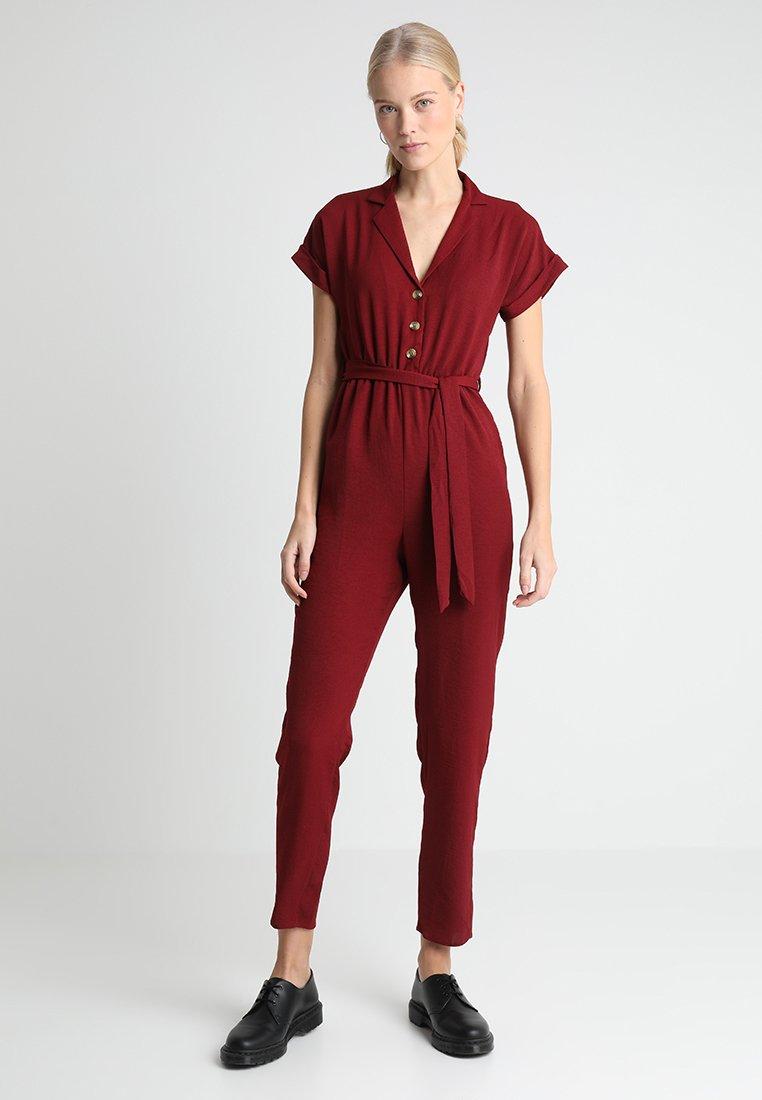 New Look Tall - MEGGIE - Haalari - dark burgundy