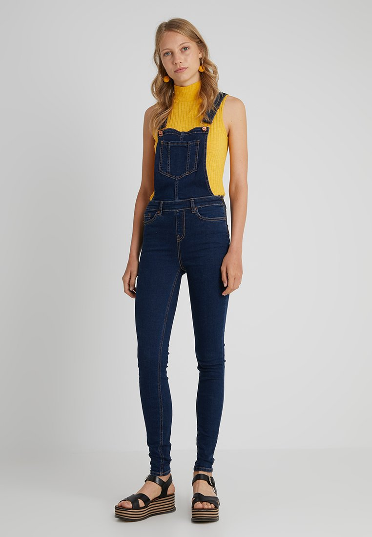 New Look Tall - DUNGAREE - Dungarees - blue