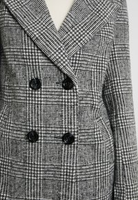 New Look Tall - WHITNEY CHECK COAT - Classic coat - black - 5