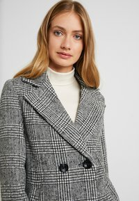 New Look Tall - WHITNEY CHECK COAT - Classic coat - black - 3