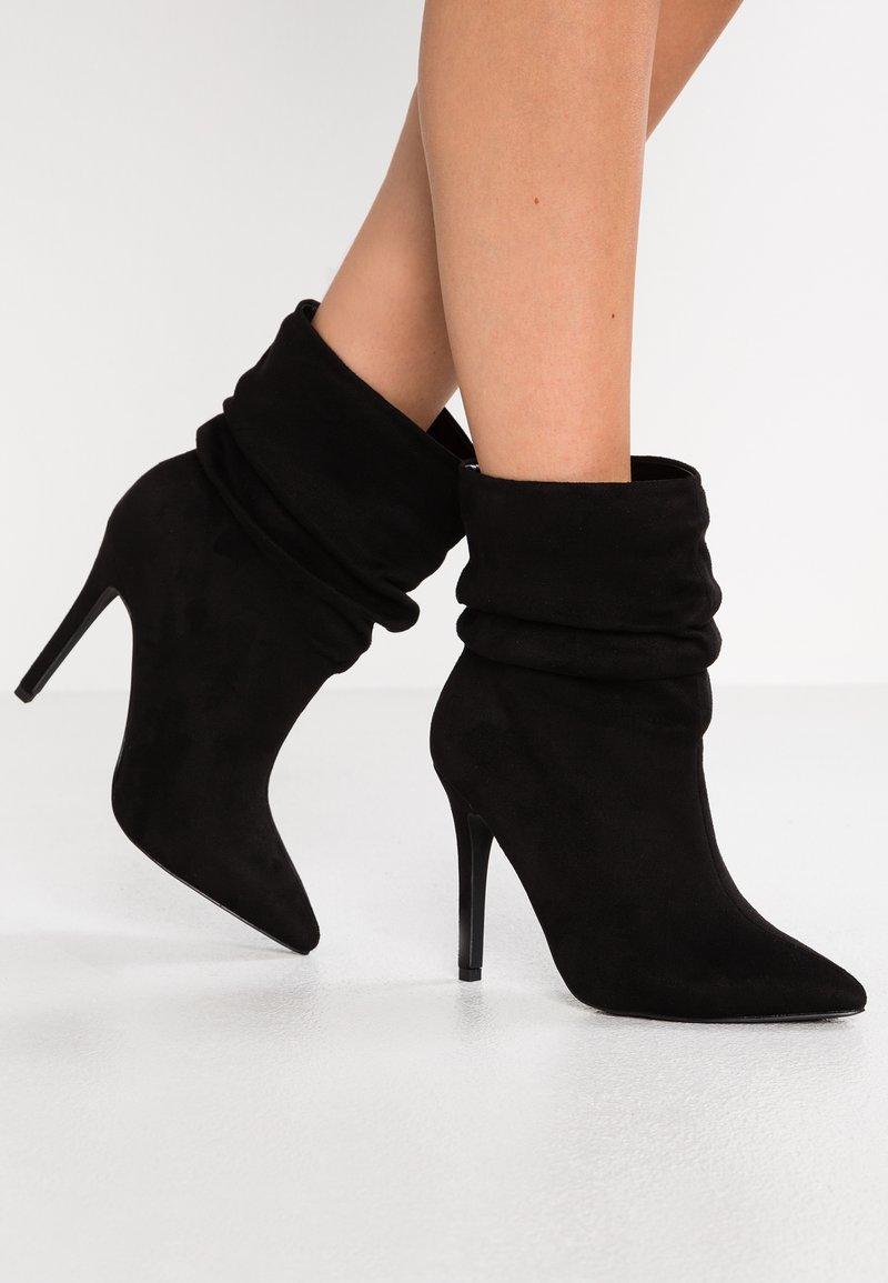 New Look Wide Fit - WIDE FIT ERIN - High Heel Stiefelette - black