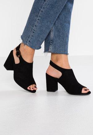 WIDE FIT ZIVAMP - Sandals - black