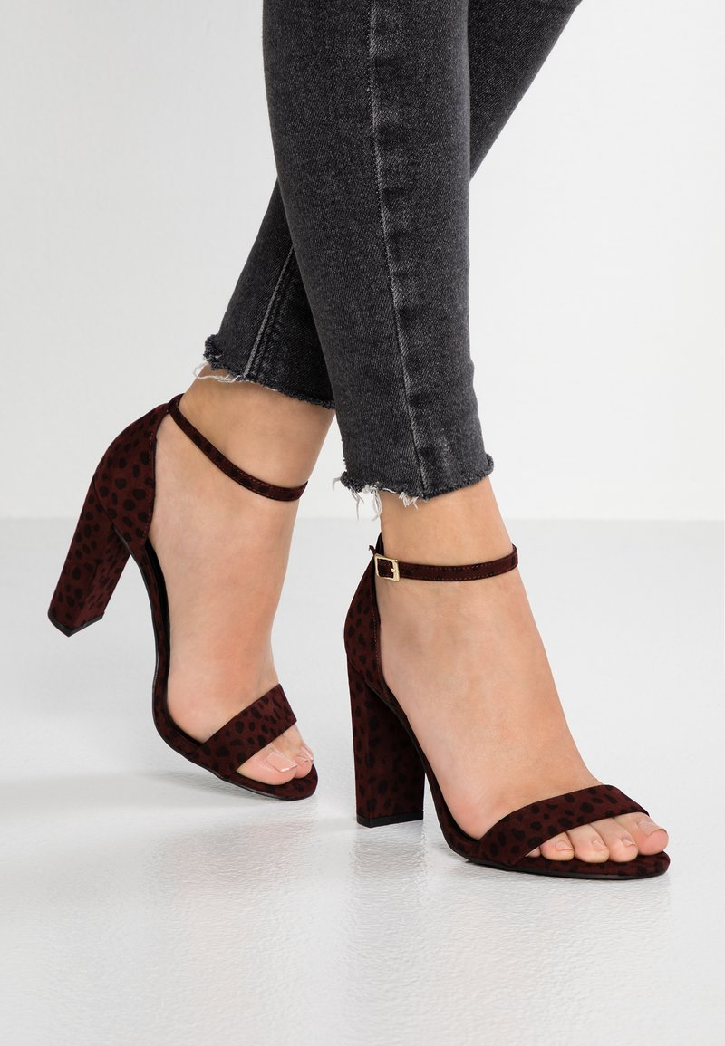New Look Wide Fit - WIDE FIT TARONA  - Sandaletter - red