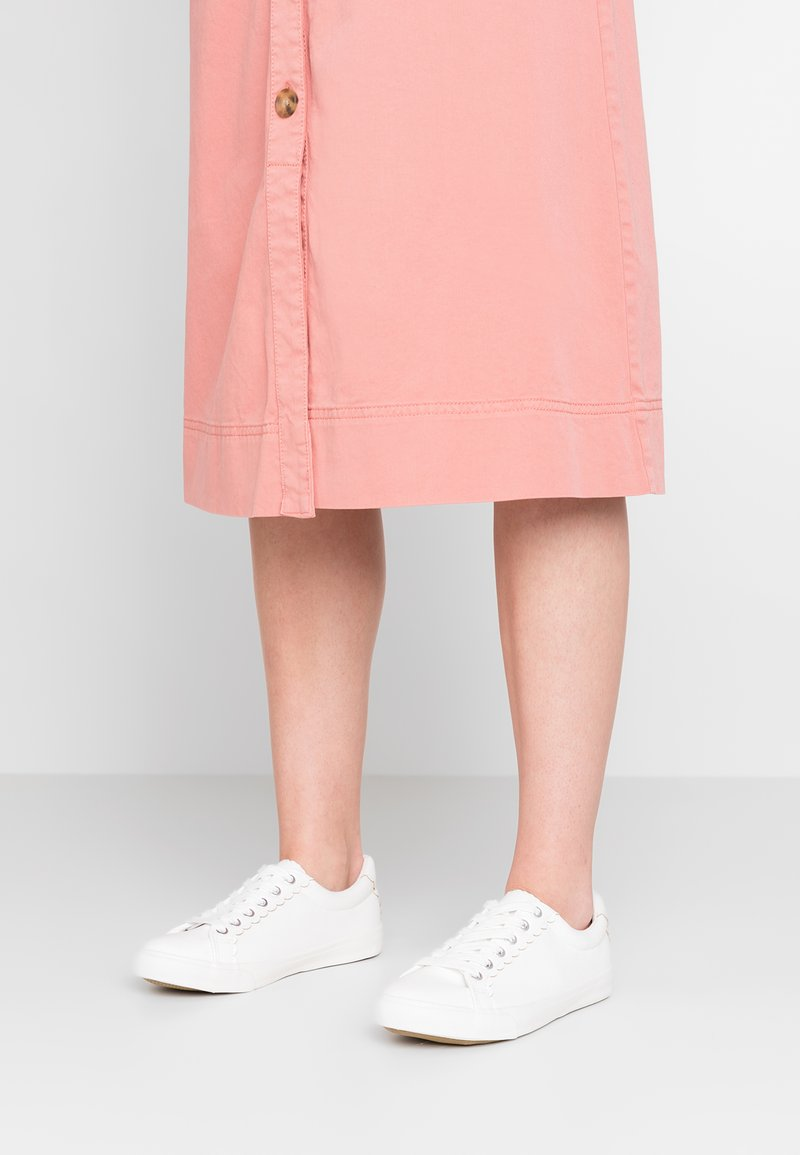 New Look Wide Fit - WIDE FIT MALLOP - Sneaker low - white
