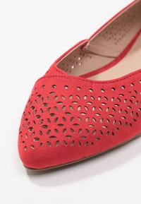 New Look Wide Fit - WIDE FIT JAZER - Ballerines - bright red - 2