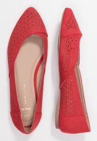 New Look Wide Fit - WIDE FIT JAZER - Ballerines - bright red - 3