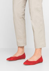 New Look Wide Fit - WIDE FIT JAZER - Ballerines - bright red - 0