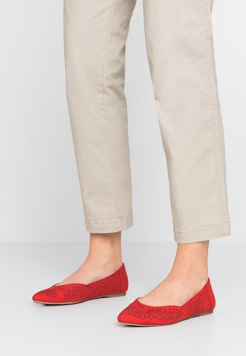 New Look Wide Fit - WIDE FIT JAZER - Klassischer  Ballerina - bright red