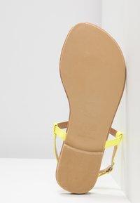 New Look Wide Fit - WIDE FIT HETALLIC - T-bar sandals - light green - 6