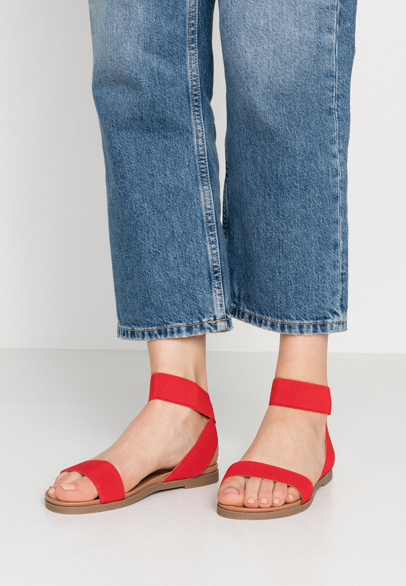 New Look Wide Fit - WIDE FIT JARO - Sandalias - bright red