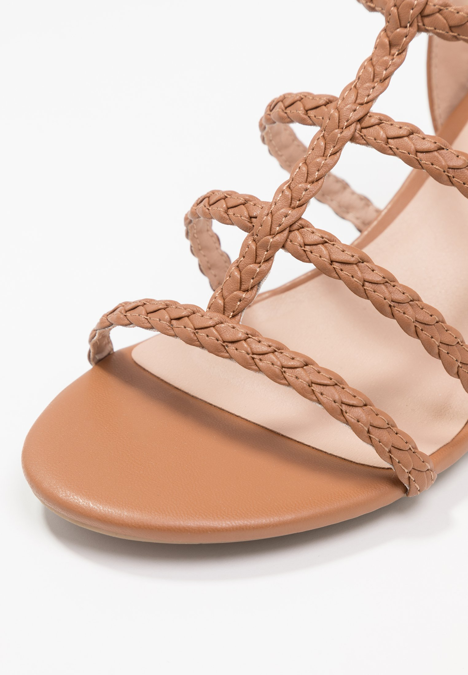 New Look Wide Fit Plait - Sandales Tan